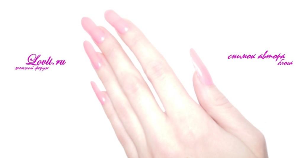 Мой секрет длинных ногтей