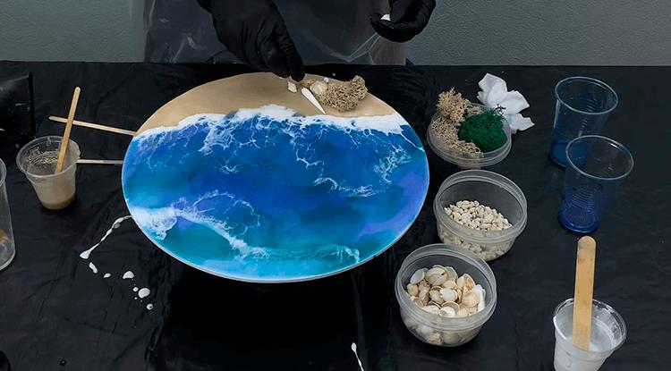 Art Resin / Научим делать картины из эпоксидной смолы для творчества